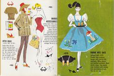 Vintage Barbie Fashion Booklet--I have all of mine from when I was young...I loved them and would look at them over & over!