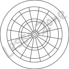 Image result for dart board template for cake
