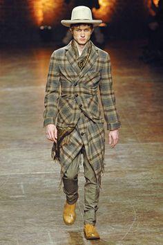 Alexander McQueen Fall 2008 Menswear