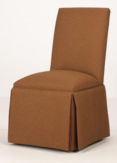 Brunswick Skirted Parsons Chair