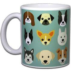 Caneca Pet Love Dogs - 330 ml