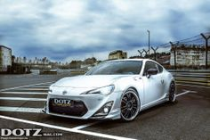 Feature: Toyota GT86 TRD embellished with the brand new Dotz Shift   check out for more: www.dotzmag.com/magazine/blog/Dotz-Shift-pure-sports-feeling