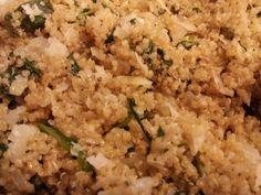parmesan spinach quinoa w/ 21 day fix counts