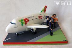 doces projectos MU: Bolo Comandante Miguel_Airbus A330_TAP_Setembro 20...