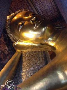 Reclining Buddha at Wat Pho, Bangkok, Thailand -- please don't go to Bangkok without visiting him. Thailand Travel, Asia Travel, Bangkok Thailand, Reclining Buddha, Wat Pho, Thai Art, Tourist Spots, Southeast Asia, Trip Planning