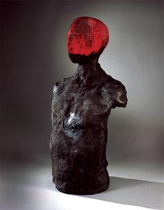 Stephen De Staebler, Man with Tar Heart, Bronze, x x 9 in. Sculpture Head, Sculptures Céramiques, Abstract Sculpture, Contemporary Sculpture, Contemporary Art, Plastic Art, Foto Art, American Crafts, Portrait Art