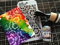 new alcohol ink products:   Tim Holtz