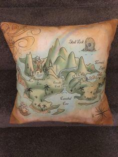 Peter pan neverland cushion original never by pinsandneedles121