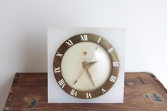 Vintage Art Deco Inspired Clock Telechron Electric by Fleaosophy, $35.00