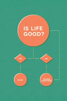 Why life is simple.