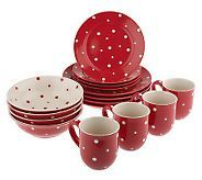 Temp-tations polka dot dinnerware ... happy!