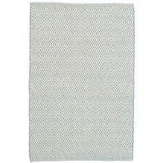 Crystal Swedish Blue/Ivory Indoor/Outdoor Rug