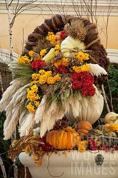 Large fall arrangement