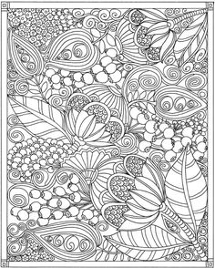 ESCAPES Joyful Gardens Coloring Book @ Dover Publications                                                                                                                                                                                 More