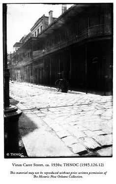 French Quarter, c1930s