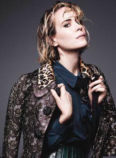 Sarah Paulson photographed by Nino Muñoz.