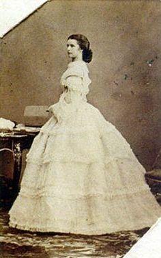 Elisabeth Amalie Eugenie - ( 24 December 1837 Munich, Germany - 10 September 1898 Genf, Switzerland)