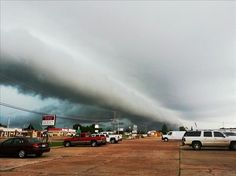 Clouds in Wynne, AR (Source: Anonymous)