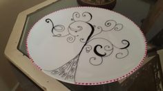 Paint a plate