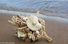 Букеты из ракушек и кораллов Cascara