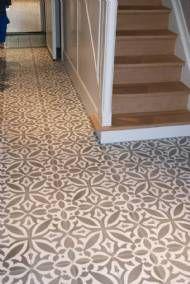 Patroontegels Floor Design, Wall Design, Interior Inspiration, Tile Floor, Toilet, Sweet Home, New Homes, Home And Garden, Flooring
