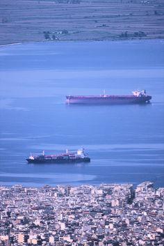 Θεσσαλονίκη - Θερμαϊκός - Πλοία - Εκβολές Αξιού  (Απρίλιος 2016)
