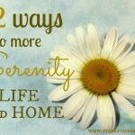 52 Ways for More Serenity Archives - Domestic Serenity