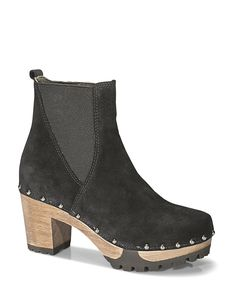 OLGA Bailey schwarz #softclox #soft #clogs #munich #muc #OLGABailey #black #autumn #fall #shoes #fallshoes #fallfavorites #winter #wintershoes #woddensole #veloursleather