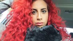 @tonic_mariee   #redhair #septum #lips #makeup #curlys #hair