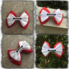 A personal favorite from my Etsy shop https://www.etsy.com/listing/222783228/baymax-hair-bow-disney
