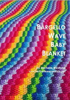 Bargello Wave Blanket