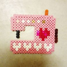 Sewing machine hama beads by muntaipale