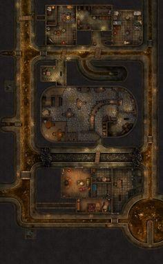 Fantasy Rpg Games, Fantasy Character, Fantasy Town, Fantasy Map, Dnd World Map, Rpg Map, Dungeon Maps, Tabletop Rpg, Map Design