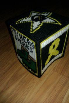 Army Tissue Box Cover. $10.00, via Etsy.