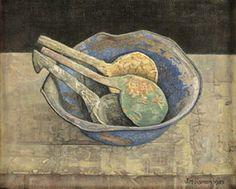 Verflepels 1987, paintingspoons Jopie Huisman