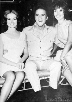 Elvis Presley, Mary Ann Mobley and Shelly Fabares Pinned from Maui, Hawaii