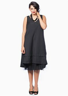 Plus Size Clothing for Women | Clothes for Large Sizes Women in Australia - LAYERING BIAS SLIP - TS14