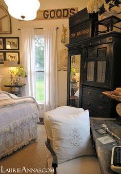Farmhouse Bedroom traditional bedroom