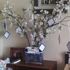 Wishing Tree I Made For My Nieces Bridal Shower Acts As A