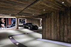 Garage / Chalet Brikell / Megève, Rhône-Alpes, France / Pure Concept Design