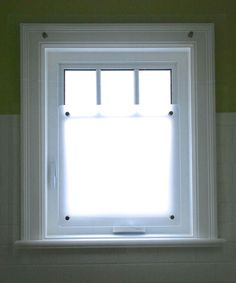 SHOWER WINDOW SCREEN, protects your window and woodwork but does not hide them, ensure privacy and lets sunlight in, custom made for you by OnlyUseful on Etsy https://www.etsy.com/listing/221222268/shower-window-screen-protects-your