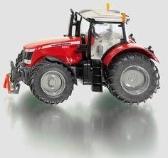 SIKU 1:32 Metal Die-Cast Massey Ferguson MF 8680 Toy Farm Tractor