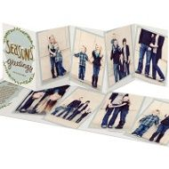 Falling Flakes -- Holiday Photo Cards