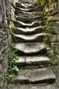 A tale is seldom better told than by a worn and weathered step of old Lynn Gerard
