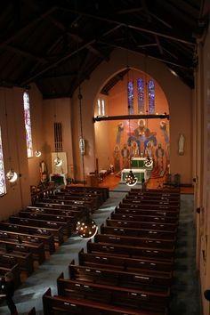 Charles Eames architect: St. Mary's Church, Helena, Arkansas