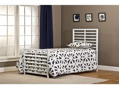 Hillsdale 1730BTW Latimore Bed Set - Twin - Rails not included