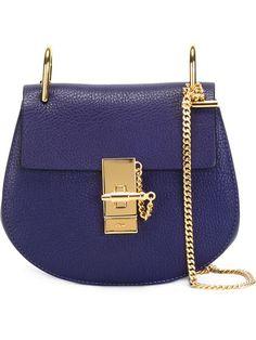 """Achetez Chloé sac porté épaule """"Drew"""" en Bernard from the world's best independent boutiques at farfetch.com. Shop 300 boutiques at one address."""