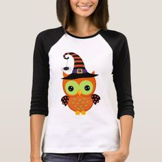 T-Shirt with a great Halloween Owl design. It's such a cute owl with a funky Witch's Hat. Use this for your Halloween Party, or give as a gift. Halloween Owl, Retro Halloween, Halloween Shirt, Halloween Gifts, Halloween Outfits, Halloween Party, Happy Halloween, Owl Shirt, Christmas Owls