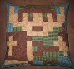 Video Game Quilted Pillows  Available on Etsy for... | it8Bit