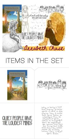 """BOTFF round 1- Annabeth Chase"" by annabeth-chase13 ❤ liked on Polyvore featuring art and battleofthefivefandoms"